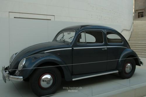 Alter Käfer im Innenhof des Britischen Museums