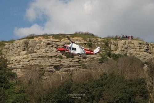 Coastguard - Abbergen eines verletzten aus den Klippen